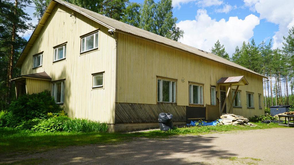 Halmela-talo sijaitsee Mäntyharjulla.